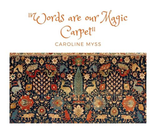 """""""Words are our magic carpet"""""""
