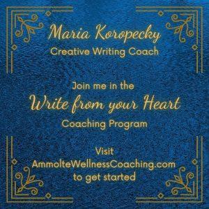Write from your heart coaching program.