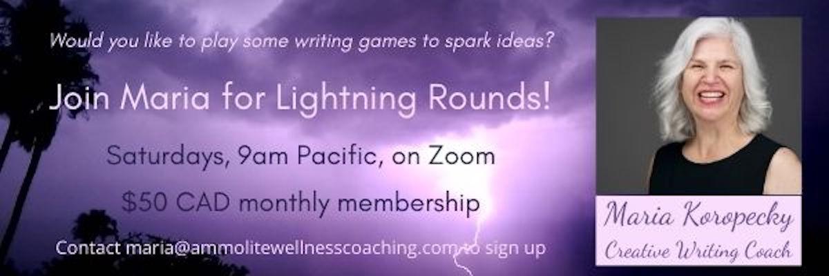 Lightening Rounds Writing Games.